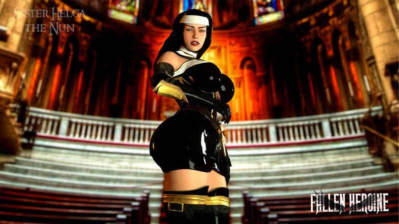 The Fallen Heroine - Sister Helga the Nun