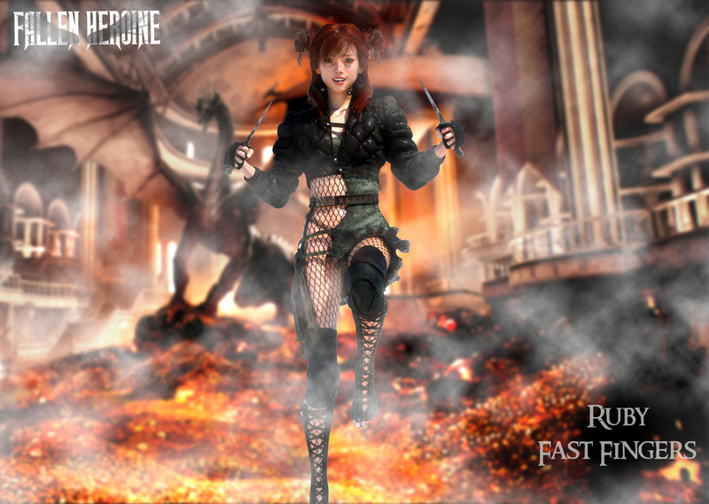 The Fallen Heroine - Naughty Ruby
