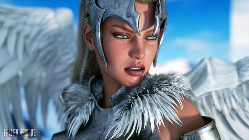 The Fallen Heroine - Mist the Valkyrie  needs a fearless hero