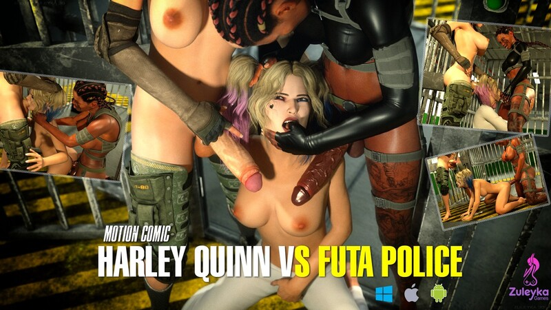 HARLEY QUINN VS FUTA POLICE (MOTION COMIC)