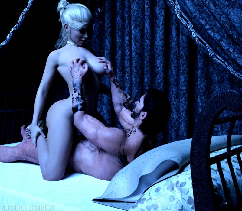 Alisha's Intimate Moment Full 4 Image Set