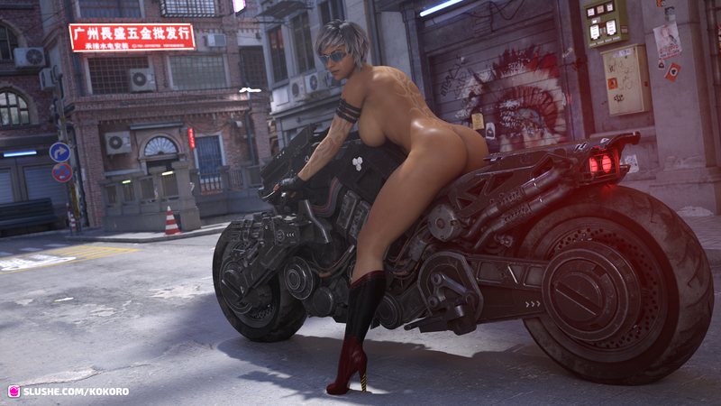 Naked Biker