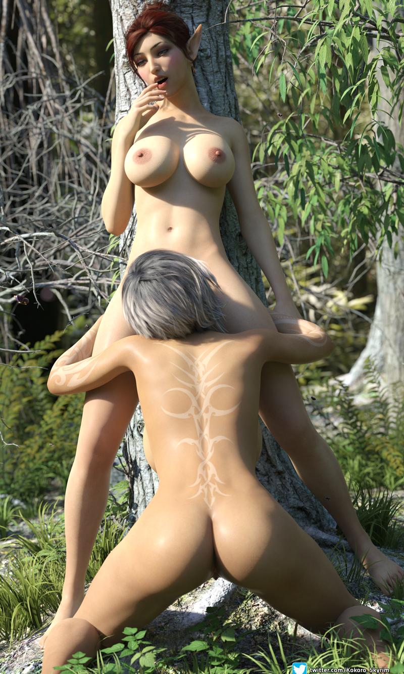 Kokoro & Taeriel - Lust in the woods