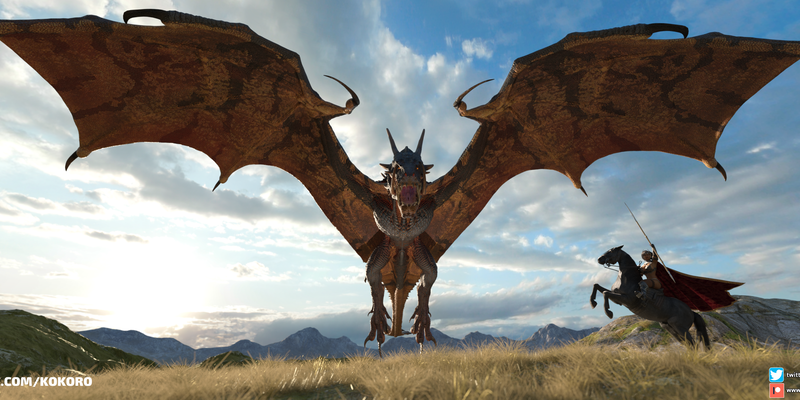 Dragonborn - my new desktop wallpaper
