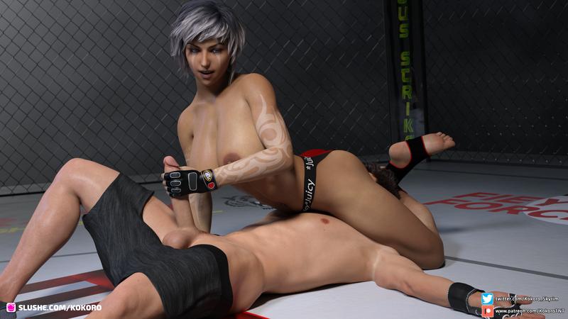 Lewd wrestling