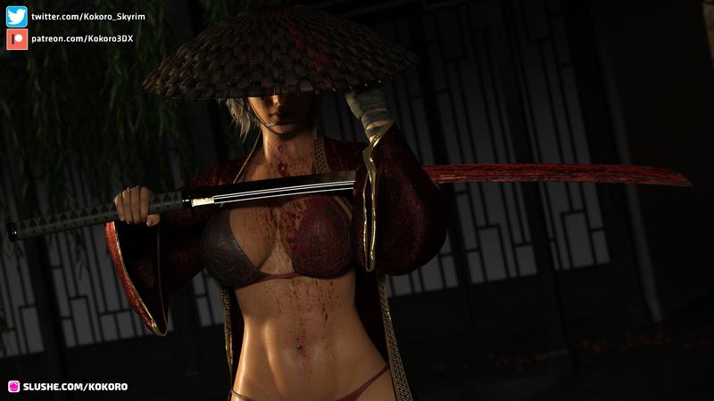 Kokoro the Ronin