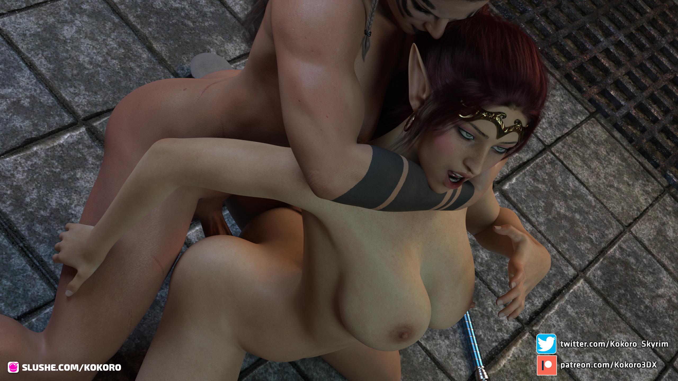 Taeriel & the futa barbarian