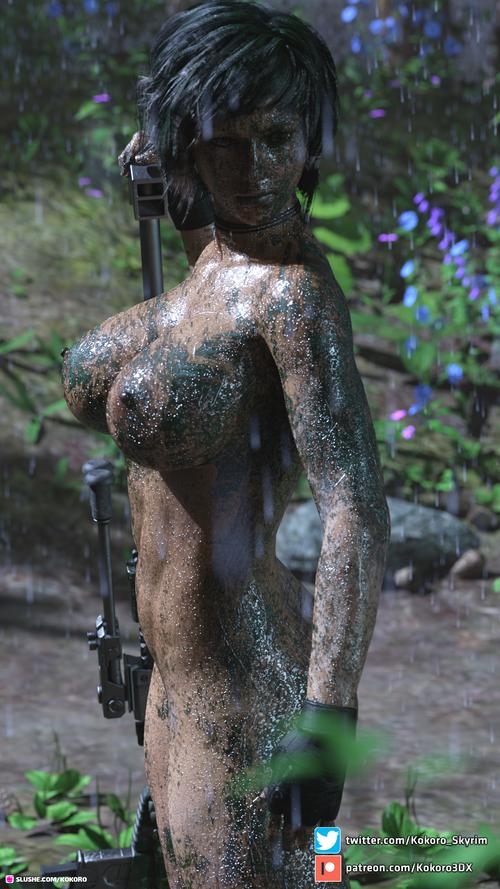 Naked sniper