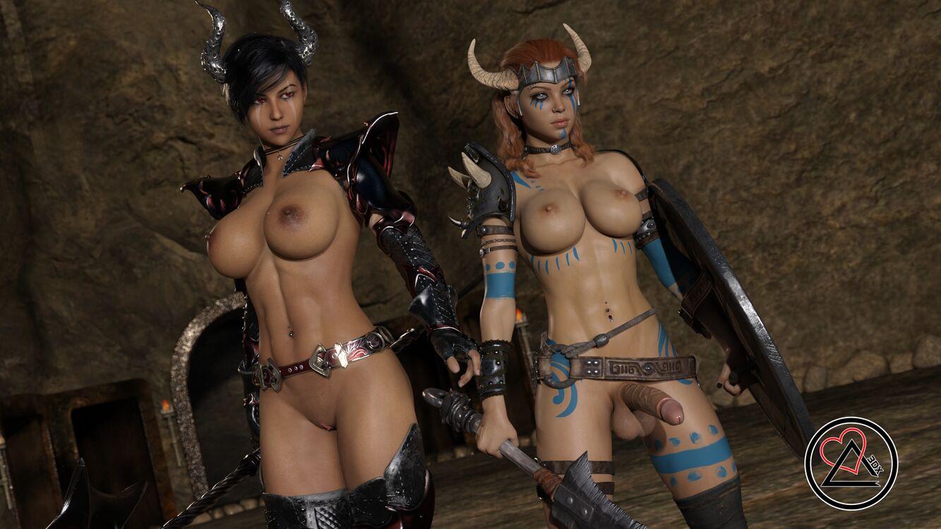 Naked Gladiators