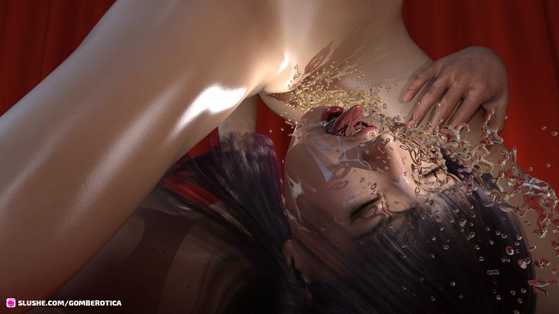 Girls in a Red Velvet Room Endless Ejaculations 02