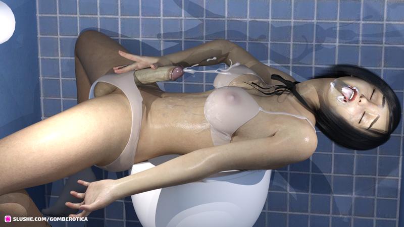 JPSGs bathroom party 03
