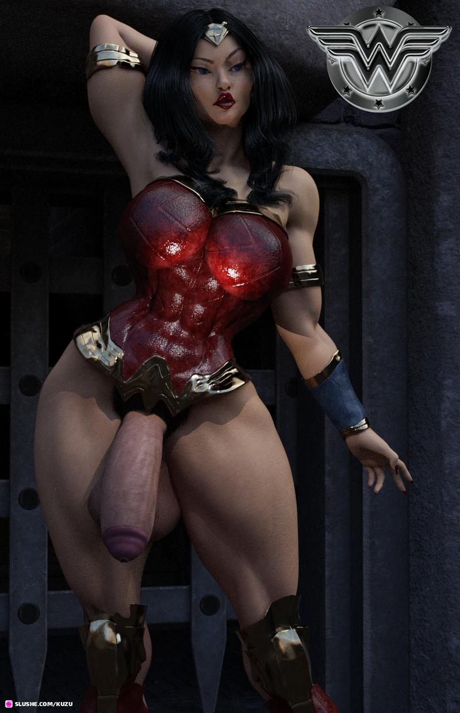 Wonder Futa Princess of the Amazons