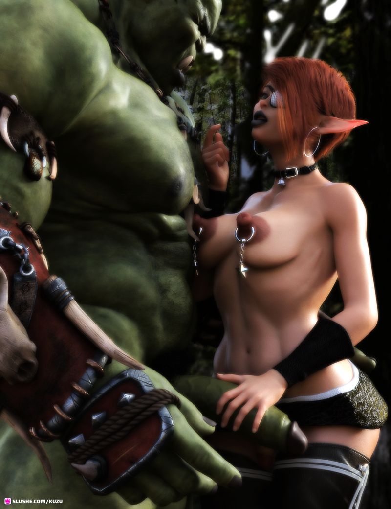 Orc and Elf