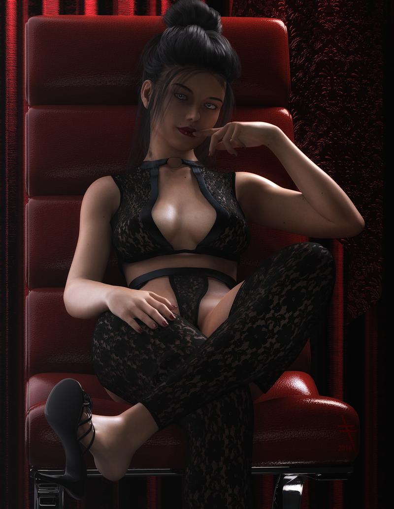 Lace Fetish 4