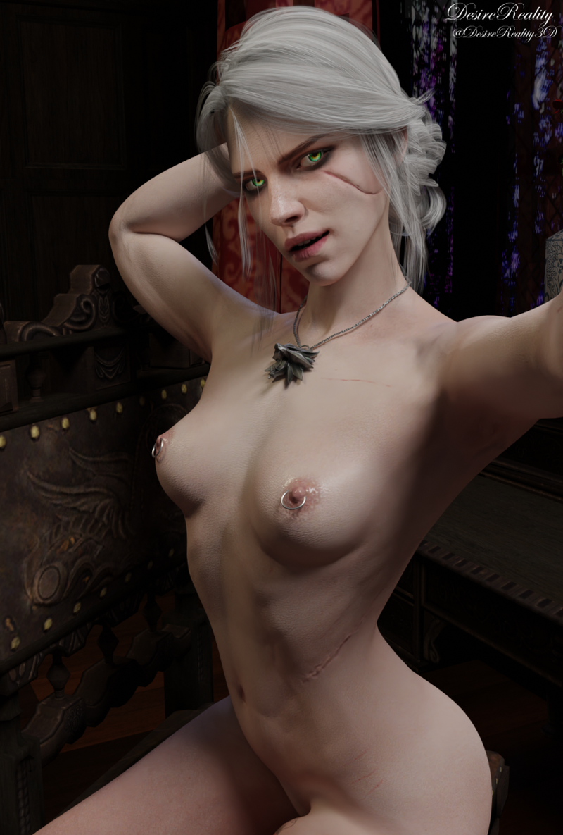 Ciri is so proud of her new breast piercings
