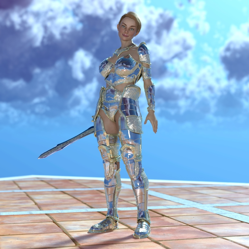Artemis in oracle armor