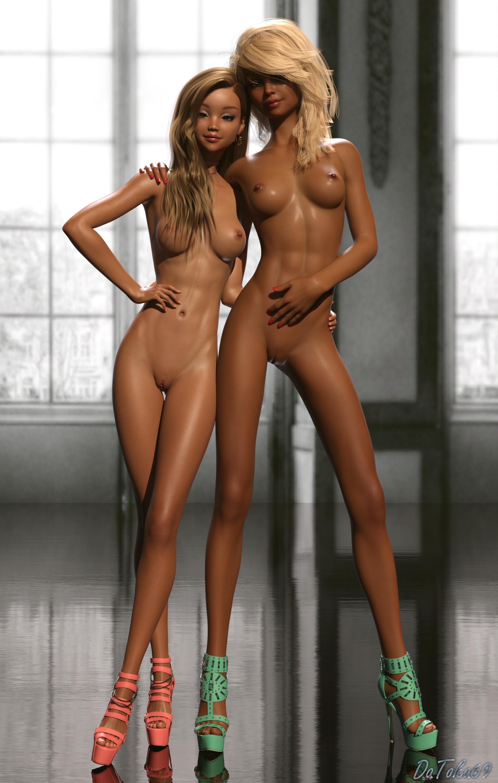 Zoe and Elicia