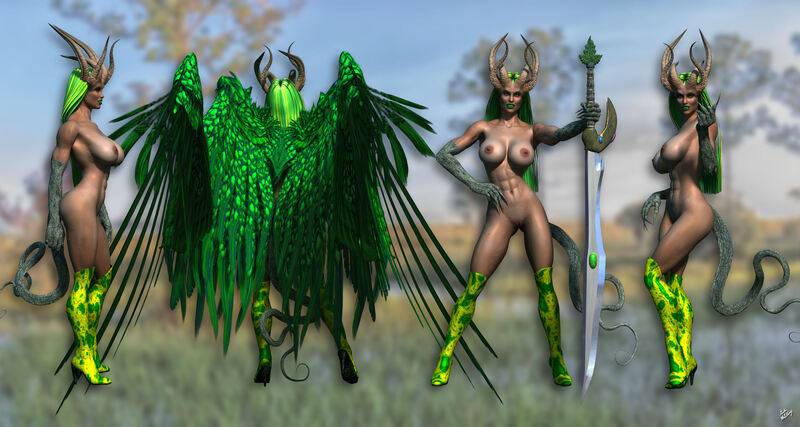 Narcissa - Queen of the Dark Fey