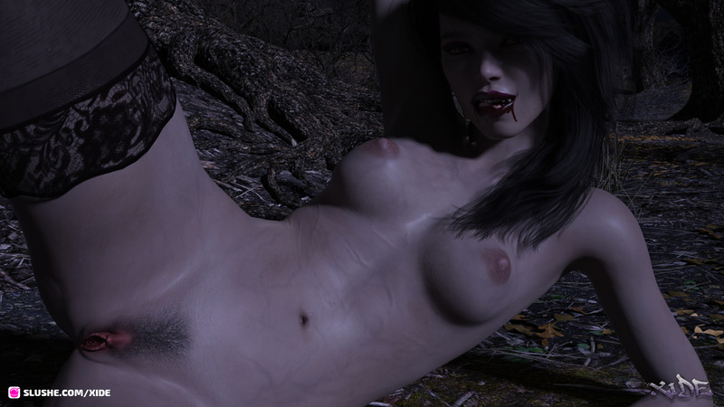 Rachel - Vampire in the woods