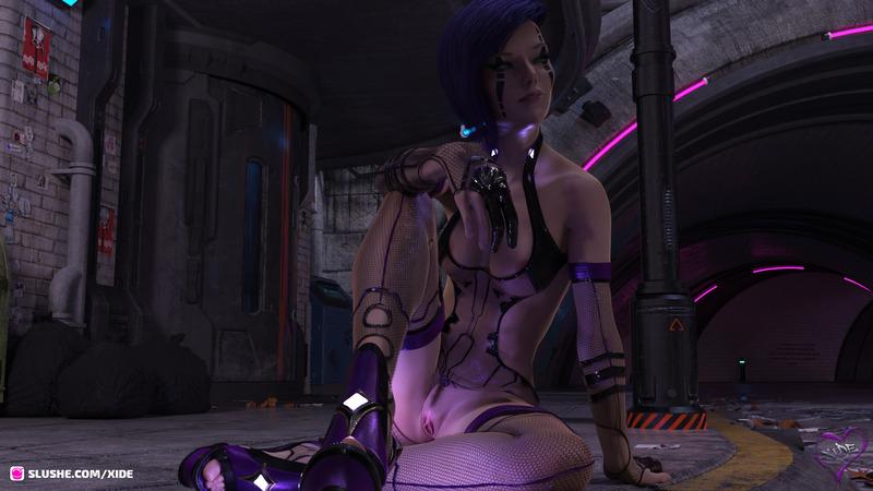 Proxi - Cyber Punk girl 02