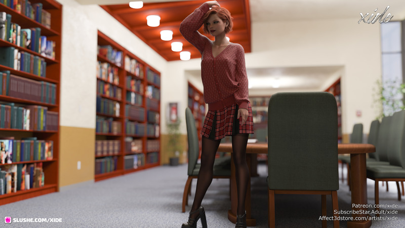 Scarlett - Quiet in the library