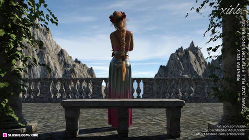 Elf Princess Alectrona