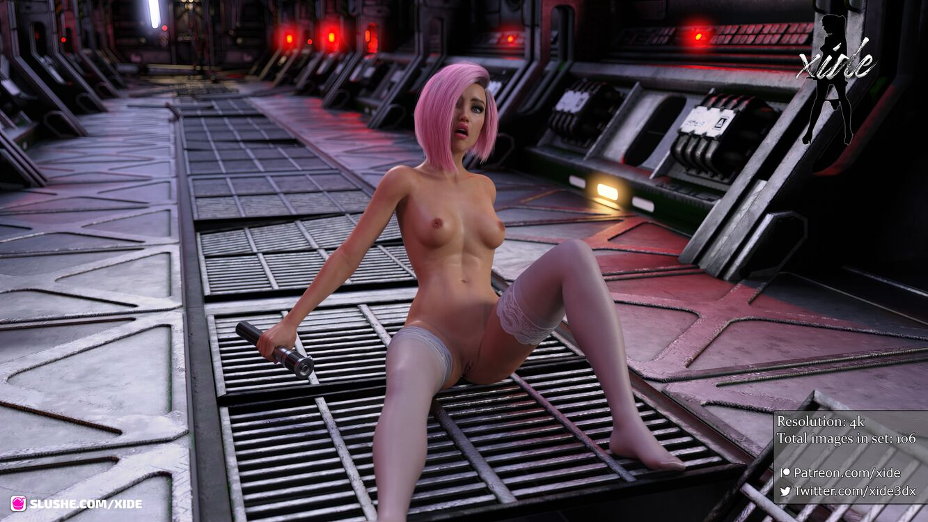 Triniti gives into the dark side (106 Images)