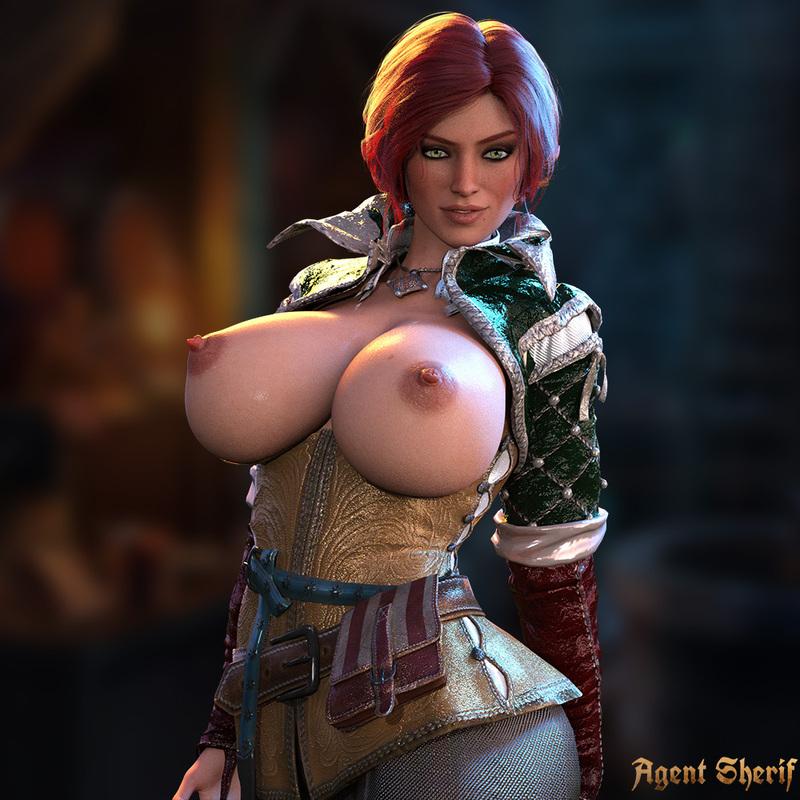 Triss Merigold - Big Tits