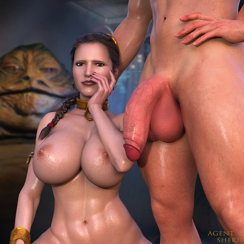 Slave Leia - Sexual Pose