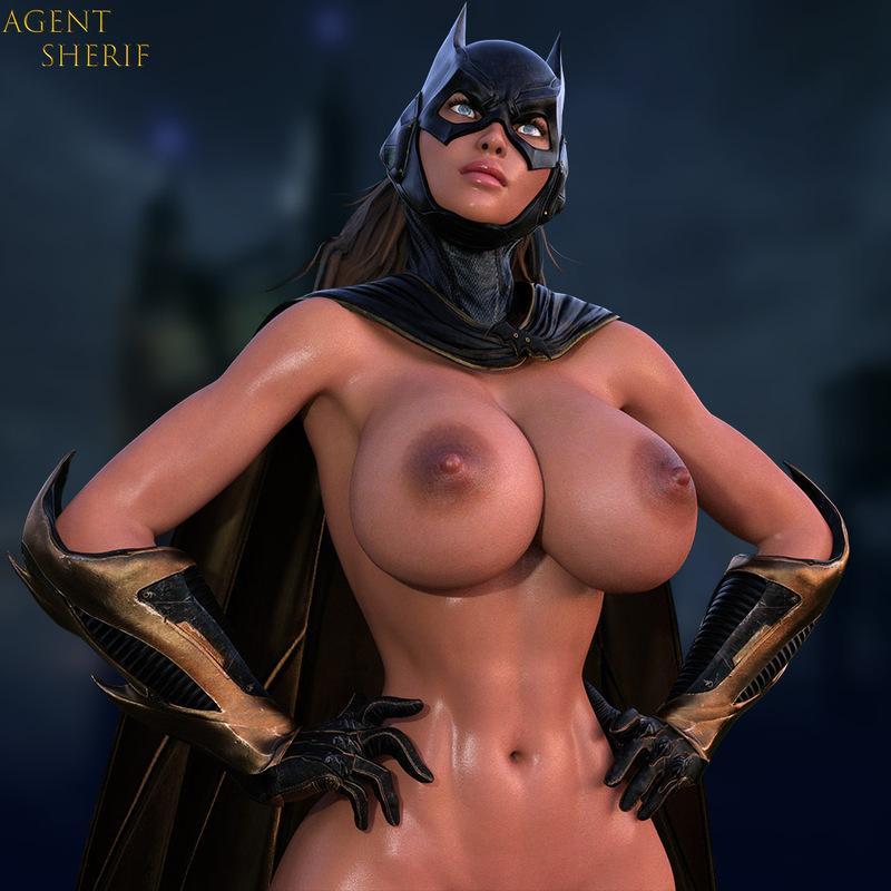 Batgirl - Big Tits