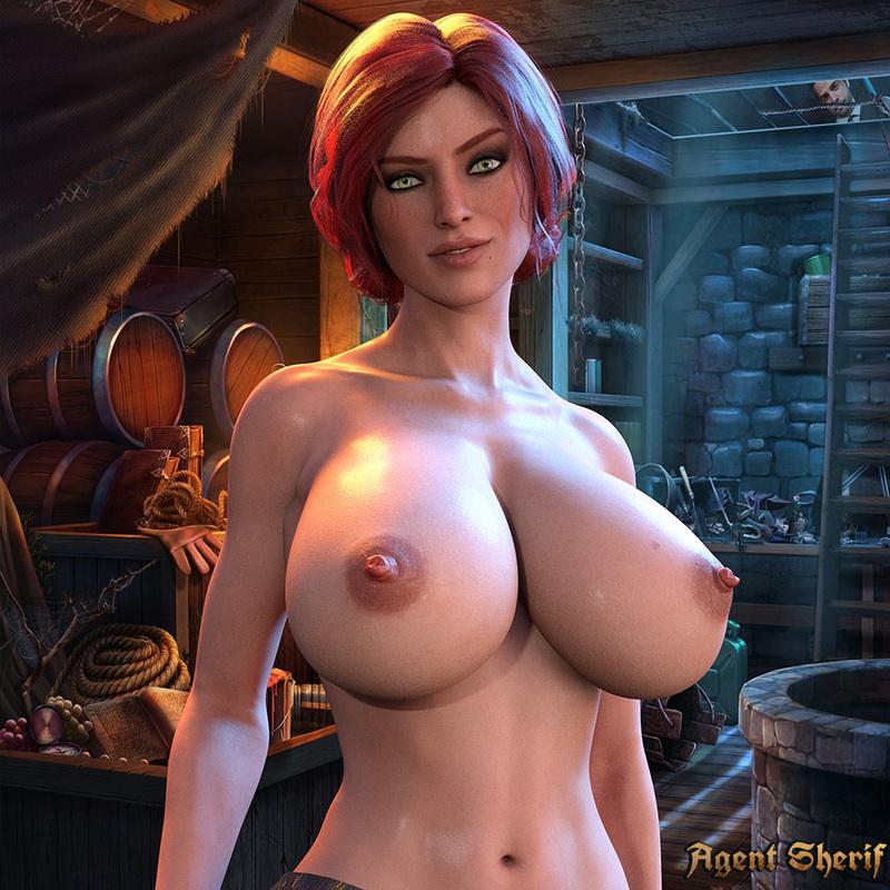 Triss Merigold Naked