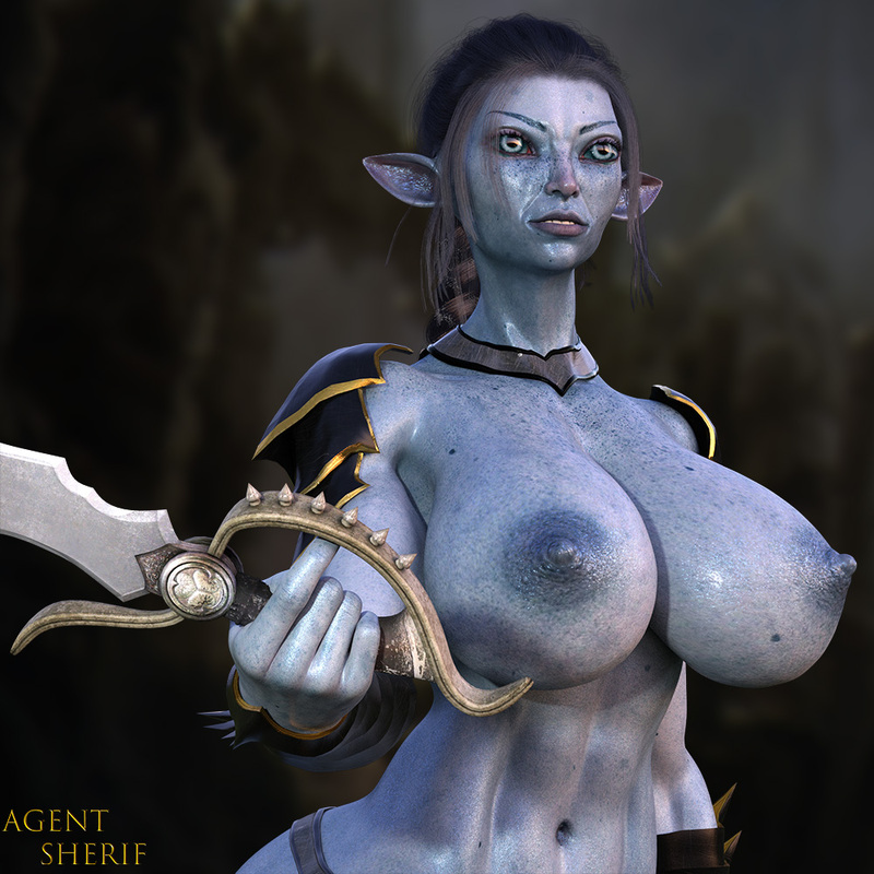 Winter Warrior Big Tits