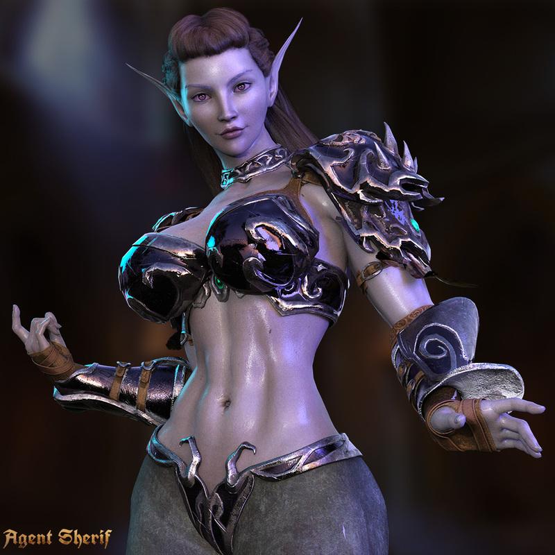 Meara - Elf Warrior