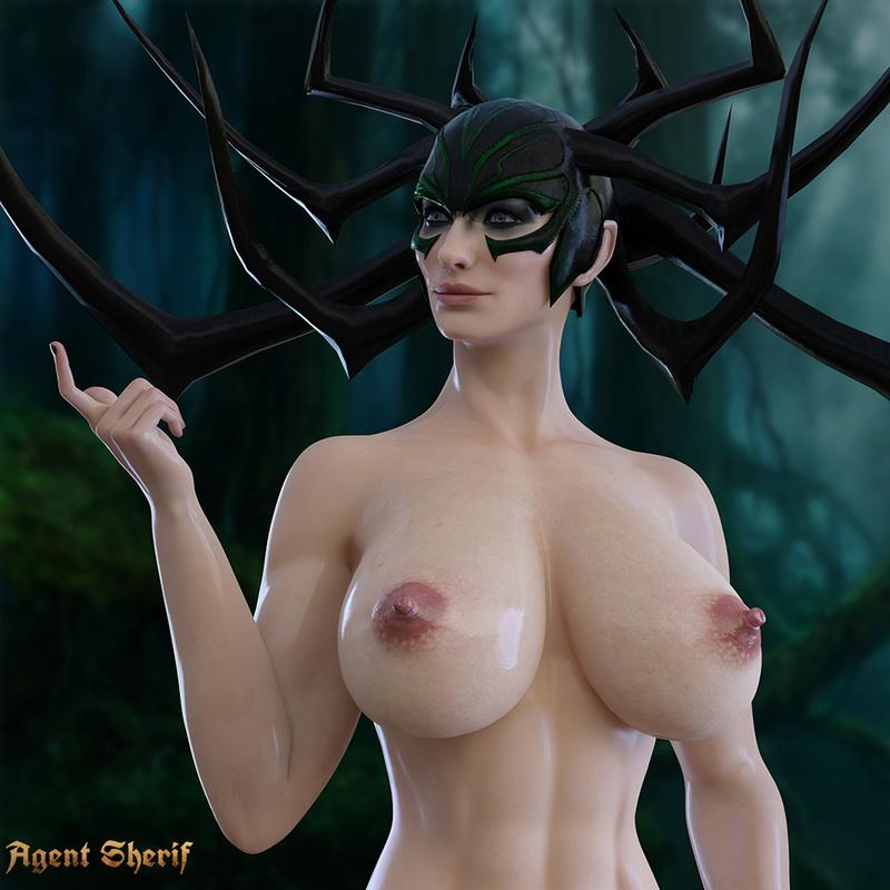 Hela - Thor Ragnarok (Big Tits)