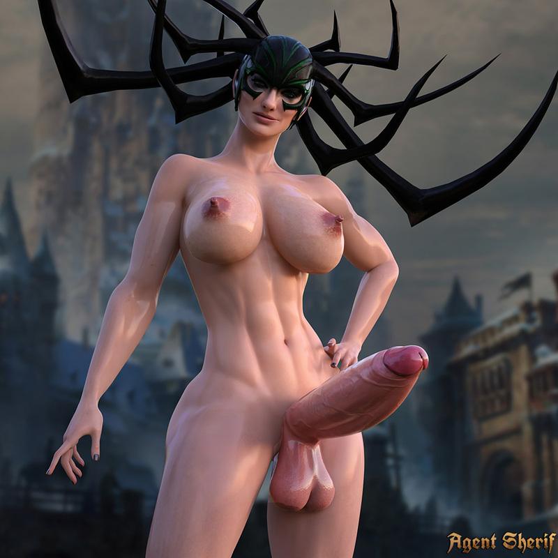 Hela - Thor Ragnarok (Futa)