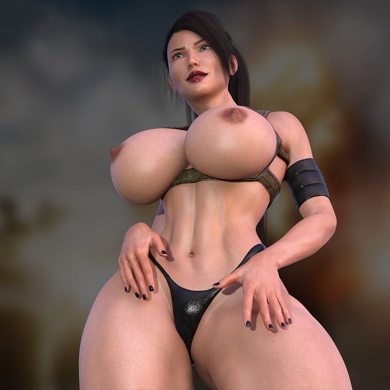 SOLDIER LARA CROFT BIG TITS