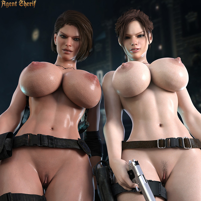 Jill Valentine & Claire Redfield