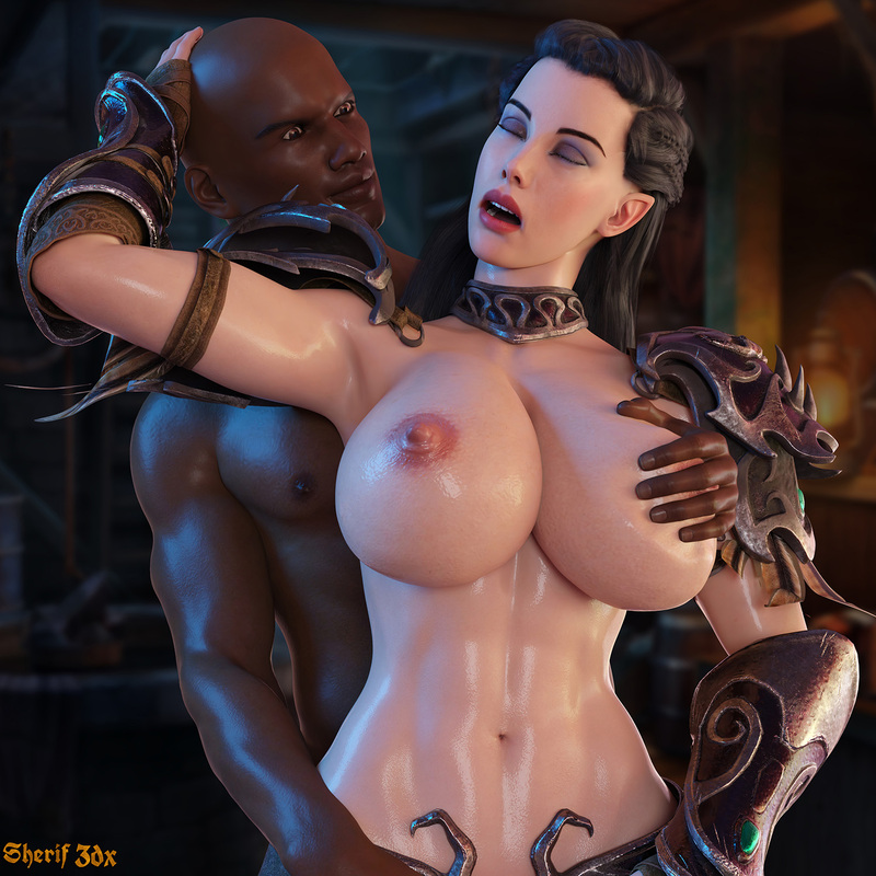 Elf Arwen - Interracial