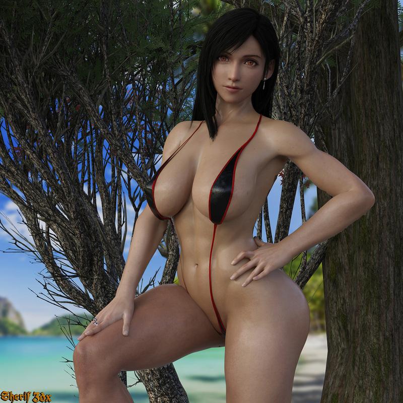 Tifa Lockhart- Bikini