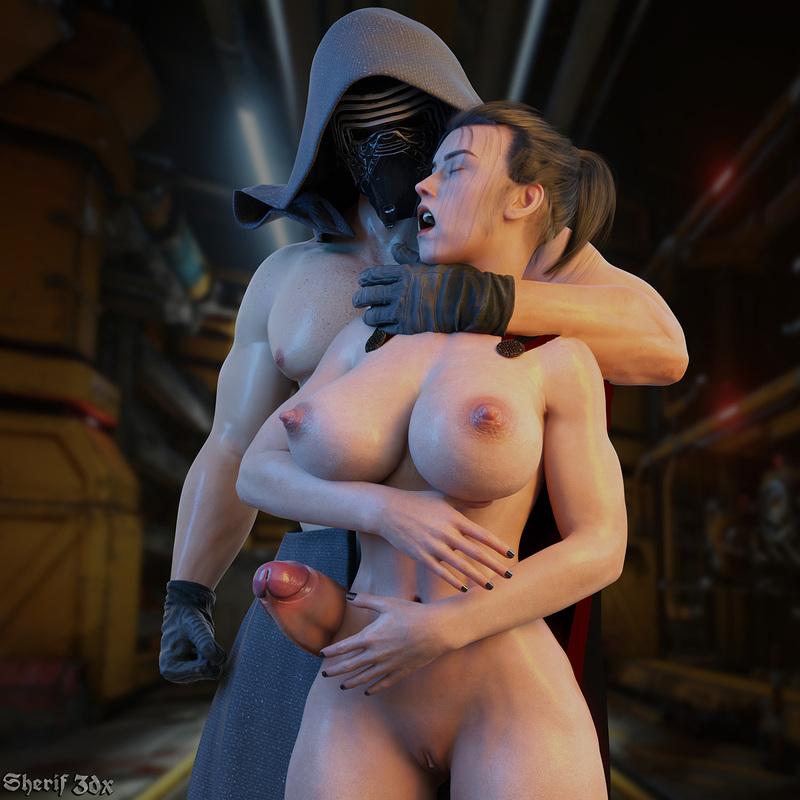 Rey & Kylo - Star Wars