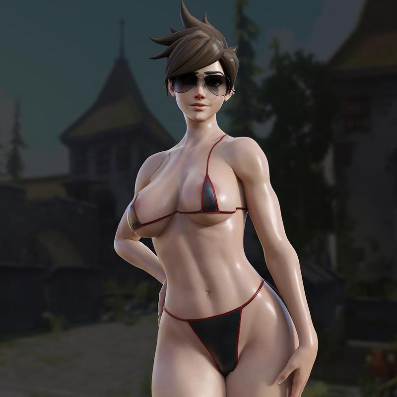 Tracer Bikini - Overwatch