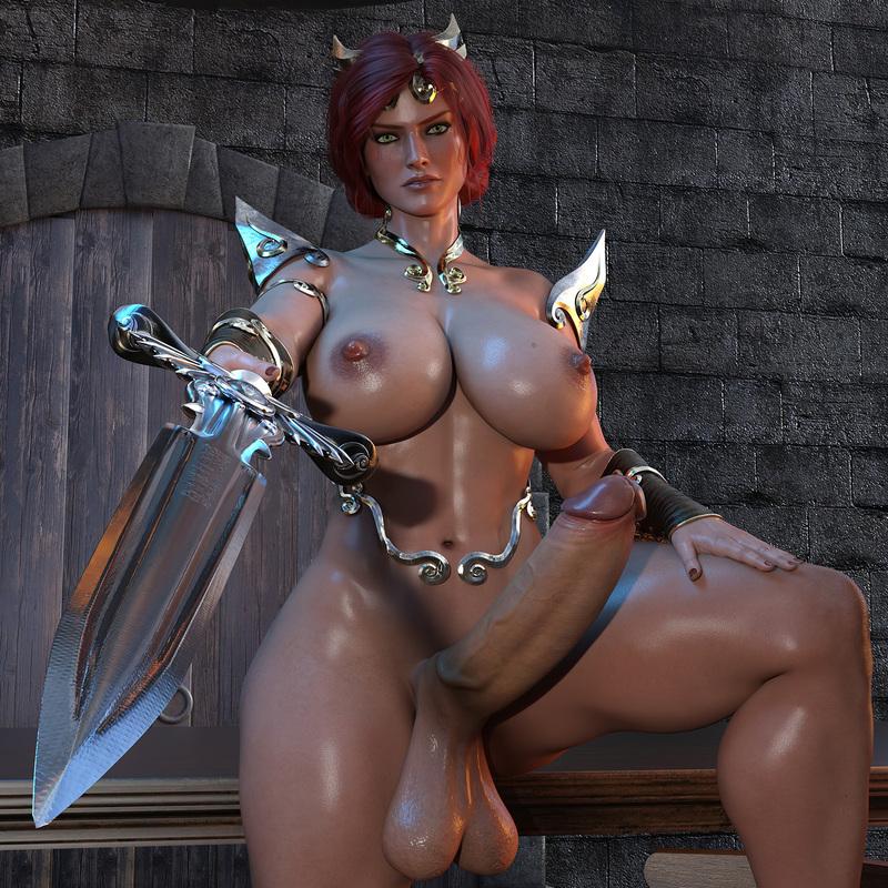 Knight Triss Merigold - Futa