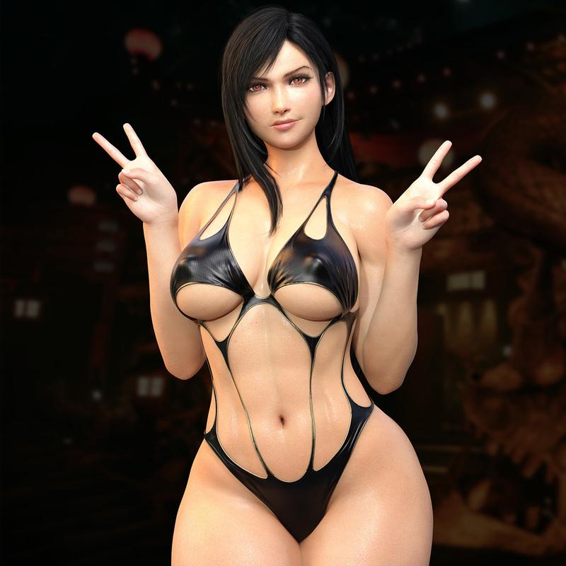 Tifa Lockhart - Bikini