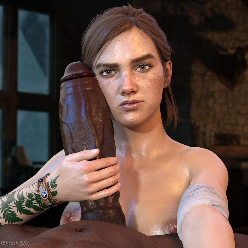 Ellie - The Last of Us 2 (Interracial)