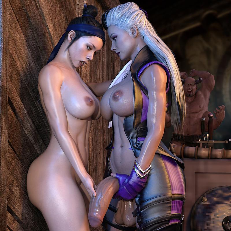 Sindel & Kitana - Mortal Kombat