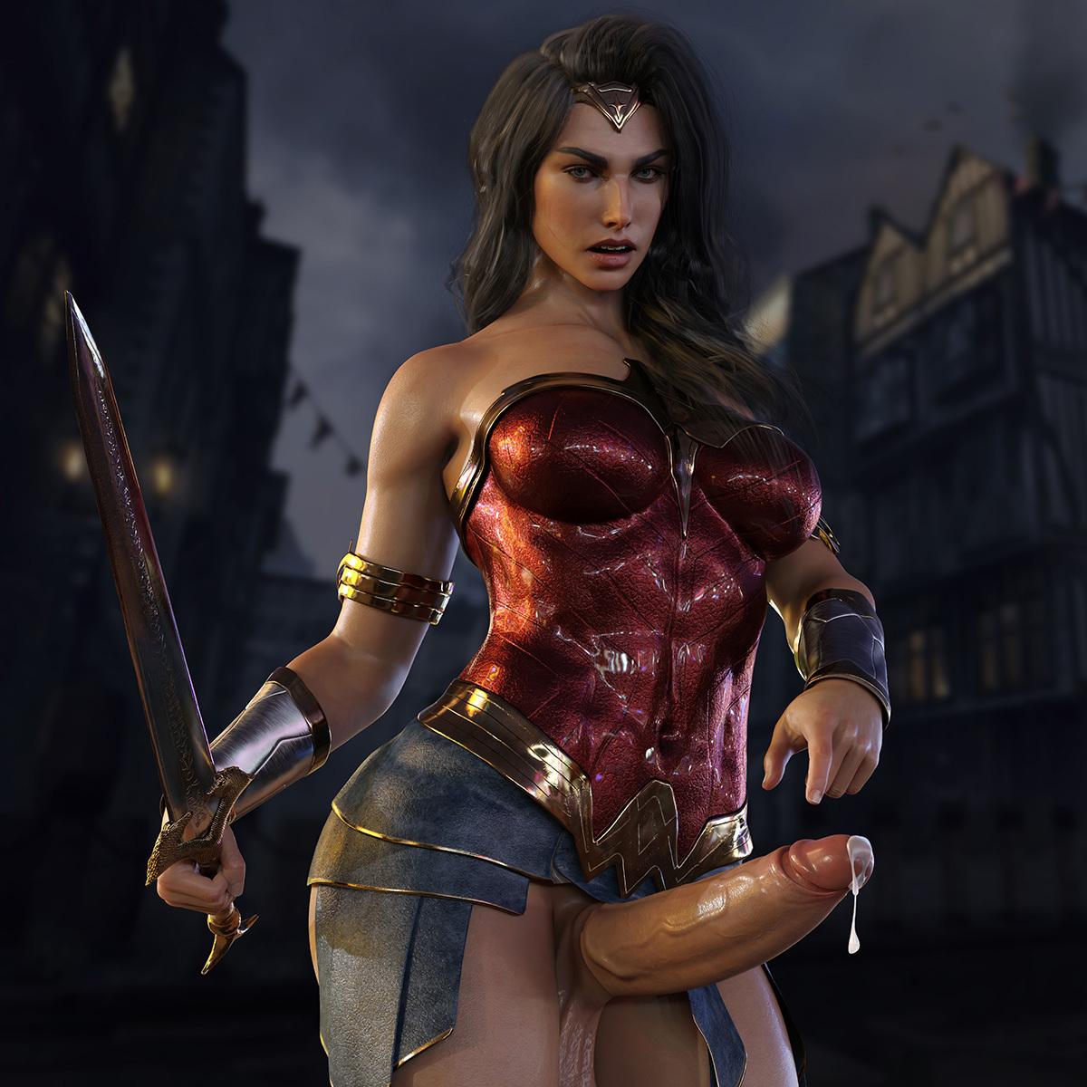 Diana - Wonder Woman (Futa)