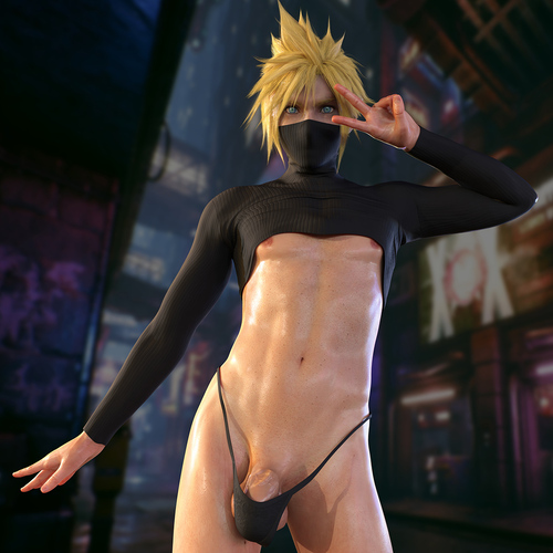 Cloud - Femboy (Final Fantasy)