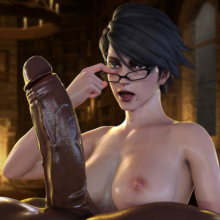 Bayonetta - Interracial