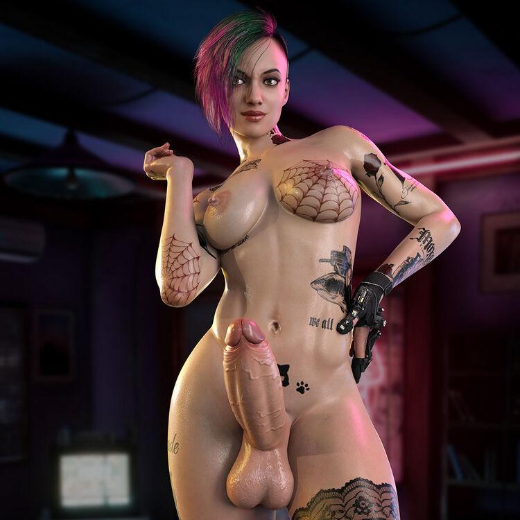 Judy Alvarez - Cyberpunk 2077 (FUTA)