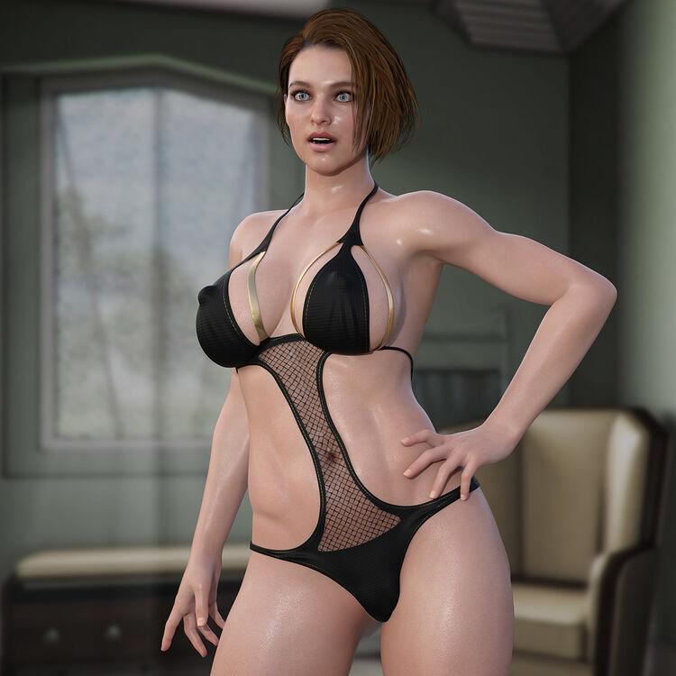 Jill Valentine - Hot Bikini